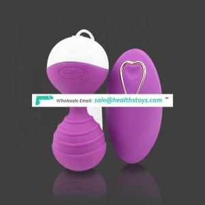 Vaginal Balls Remote Vibrators For Women Vibrating Egg Tight Exercise Kegel Balls Adult Sex Toys For Woman