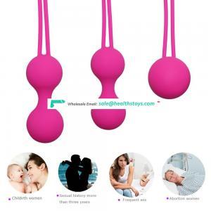 Vaginal Balls Trainer Sex Toys Silicone Balls Vagina Tightening Kegel Exerciser Vibrator Ball for Women kegel exercises for men