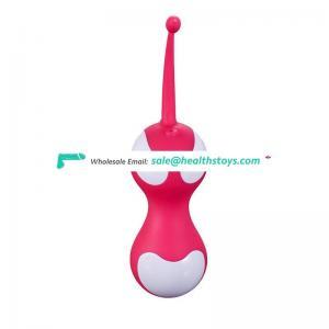Vibrator sex toys kegel exercise 10m remote control vibrator kegel ball vibrating vaginal plug