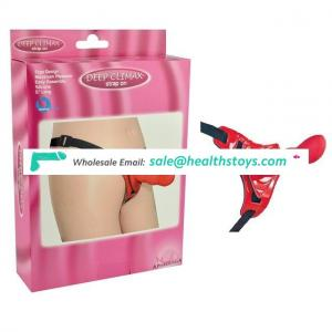 Welcomed High Quality Silicone Strap On Dildo With Belt Sex Toys For Women