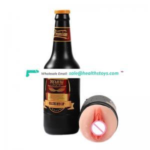 Wholesale Adult Sex Toys Male Masturbator Artificial Vagina Real Pocket Pussy for men Masturbation Cup