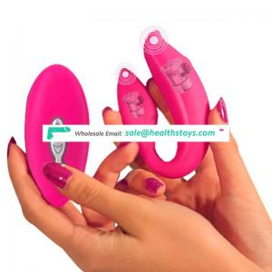 Wireless Remote Control USB Rechargeable G Spot Vibrators Women Silicone 5 Speed Vibe Eggs Vibrator Sex Toys for Couples