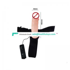 adult artificial woman strap on dildo panty with penis
