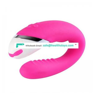 homemade rechargeable electric silicone g spot pussy sex massage vibrator for women female sex toys