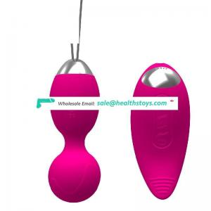 hot sell online small  sex toys wireless remote control  waterproof jump eggs  for woman