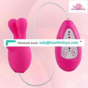 japan hot school girl sex toy 4 speed silicone rabbit ears vibrator