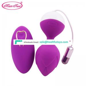 man nuo Vibrating egg Kegel Balls Love Koro Ball for Vaginal Tight Exercise Machine Rechargeable Vibrator Sex Toys for women