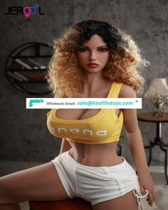 sexy love Toys full body big breast silicon adult sex dolls with huge hip for Men