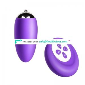 wireless control heating dual vibrating egg sex toy for women
